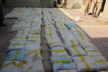 یک تن و 423 کیلوگرم مواد مخدر در مرز سراوان کشف شد