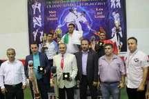 پایان مسابقات بین المللی کیوکوشین کاراته در آستارا با قهرمانی ایران