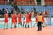 چهارمین روز از لیگ دسته یک والیبال جوانان کشور  صعود بدون باخت آذربایجان غربی به مرحله حذفی