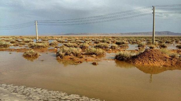 بیشترین بارندگی استان اصفهان در خوروبیابانک ثبت شد
