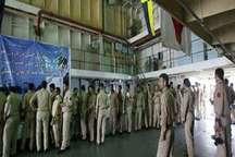 دریادلان نداجا در حین ماموریت در آب های خلیج فارس، رأی دادند