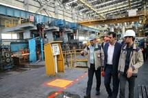 صادرات محصولات فولادی از آران و بیدگل 10 برابر شد