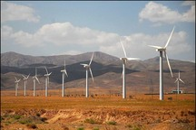 تولید برق از انرژی بادی در قزوین 135 مگاوات است