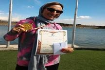 بانوی قزوینی قهرمان مسابقات 20 کیلومتر پیاده روی کشور شد