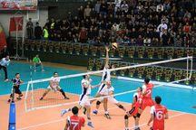 ناکامی والیبال شهرداری ارومیه در مقابل شمس تهران