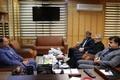 دیدار مدیرکل ثبت احوال گیلان با فرماندار شهرستان رشت