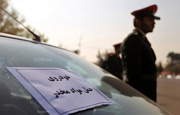 دستگیری یک قاچاقچی با 10 کیلوگرم تریاک در تاکستان