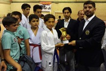 رقابت های کاراته جام رمضان در قزوین پایان یافت