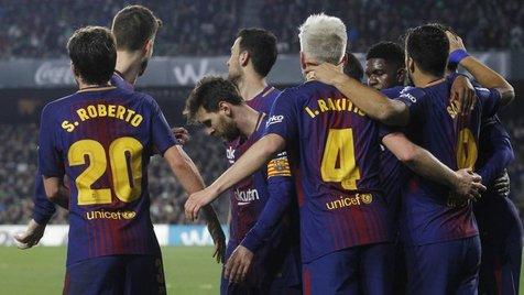 راهیابی بارسلونا به جمع ۱۶ تیم برتر جام حذفی اسپانیا