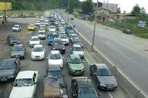 ترافیک سنگین و نیمه سنگین در محورهای ، کندوان ، هراز و سوادکوه