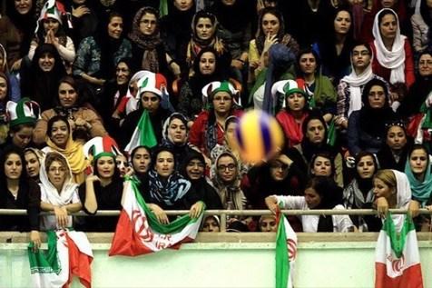 افزایش سهمیه تماشاگران خانم برای مسابقات ملی والیبال