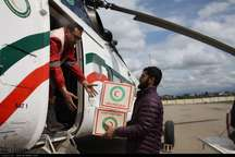 240 سورتی پرواز در یک روز کاری فرودگاه گرگان برای سیل زدگان