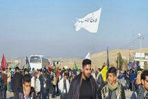 راهپیمایی دانشجویان از نیشابور تا مشهد