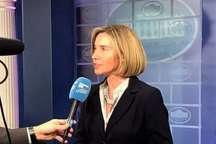 موگرینی: اطمینان از اجرای برجام جزو اولویت های نخست اتحادیه اروپا است