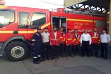 2 تیم آتشنشانی شهرداری زاهدان به شهر زابل اعزام شدند
