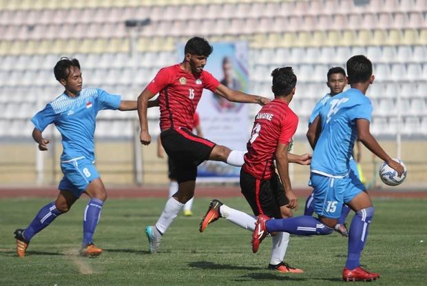 فوتبال دانش آموزان آسیا  تیم منتخب فارس، تایلند را شکست داد