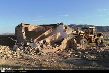 100 مورد ساخت ساز غیر مجاز در پاکدشت تخریب شد