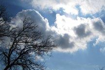 باد شدید و کاهش دما بر آسمان سمنان غالب می شود