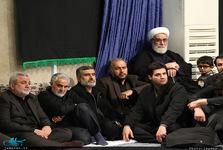 حضور حاج قاسم سلیمانی در مراسم عزاداری فاطمیه + عکس
