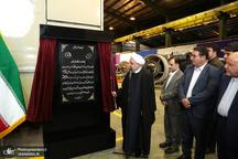 افتتاح یک کارخانه توربین سازی با حضور رئیس جمهور