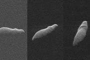 عبور سیارکی شبیه اسب آبی از کنار زمین+ عکس