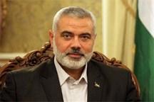 هنیه: فلسطین مساله همه امت عربی و اسلامی است/ غزه از کرانه باختری جدا نمیشود