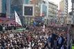 مراسم باشکوه تشییع پیکر مطهر شهدای حمله تروریستی اهواز + فیلم و عکس