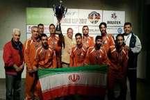 تیم ملی فوتبال رو میز ایران در مسابقات آلمان، بسیار قوی ظاهر شد