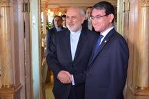 تقاضای وزیر خارجه ژاپن از ظریف: بمان