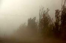 طوفان گرد و خاک  شمال سیستان و بلوچستان را فرا میگیرد