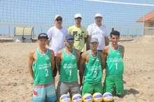 اردوی تیم ملی والیبال ساحلی در بندرگناوه