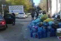 بیش از 5600 تخته پتو و چادرمسافرتی به مناطق زلزله زده کرمانشاه ارسال شد