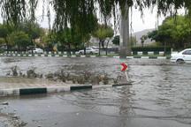 بارش ها در مناطق جنوبی زنجان شدت بیشتری دارد