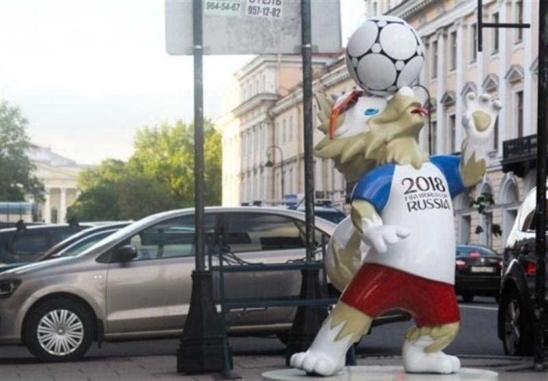 نماد جام جهانی ۲۰۱۸ در سن پترزبورگ به سرقت رفت!