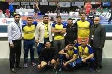 تیم کشتی فرنگی فارس در رقابت های مجارستان یک مدال نقره و یک برنز کسب کرد
