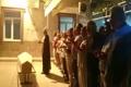اقامه نماز میت بر پیکر مرحوم ابراهیم یزدی