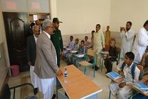 مدرسه 6 کلاسه خیر ساز در ایرانشهر راه اندازی شد