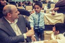 استاندار گلستان روزه خود را با کودکان بهزیستی افطار کرد