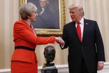 نخستوزیر انگلیس: با ترامپ درباره توافق هستهای ایران اختلاف دارم