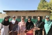 آذربایجان غربی قهرمان مسابقات تنیس دختران ایران شد