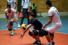 تیم والیبال خاتم اردکان بر شهرداری گنبد غلبه کرد