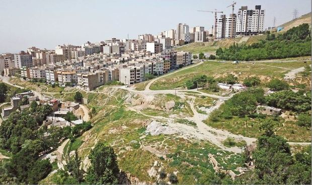 ساخت و ساز در بسیاری از روددره های پایتخت انجام شده است