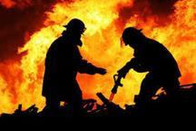 آتش سوزی یک کارگاه پوشاک در تهران بدون مصدوم مهار شد