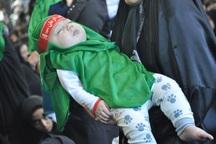 همایش شیرخوارگان حسینی(ع) در دماوند برگزار شد