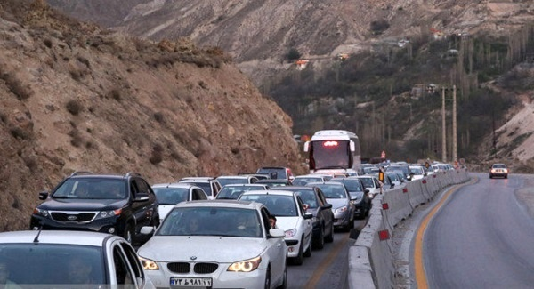 ترافیک نیمه سنگین در مازندران