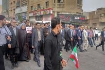 فرمانده سپاه ولی عصر(عج):هدف گیری سپاه توسط آمریکا هدف قرار دادن ملت ایران است