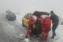 تصادفات رانندگی در اندیکا 17 مصدوم برجا گذاشت