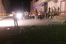 اقدام به خودکشی دراهواز موجب انفجار گاز در سوپرمارکت شد