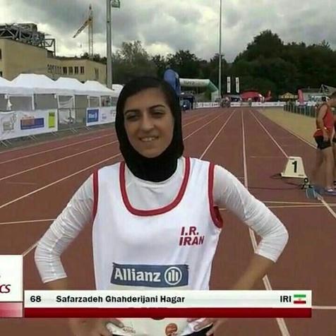 صفرزاده به مدال برنز دوی 100 متر بانوان رسید