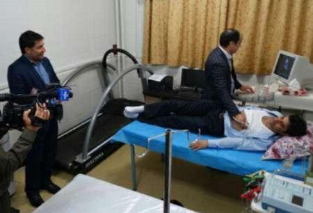 بخش مغز و اعصاب درمانگاه فرهنگیان خرم آباد بهره برداری شد